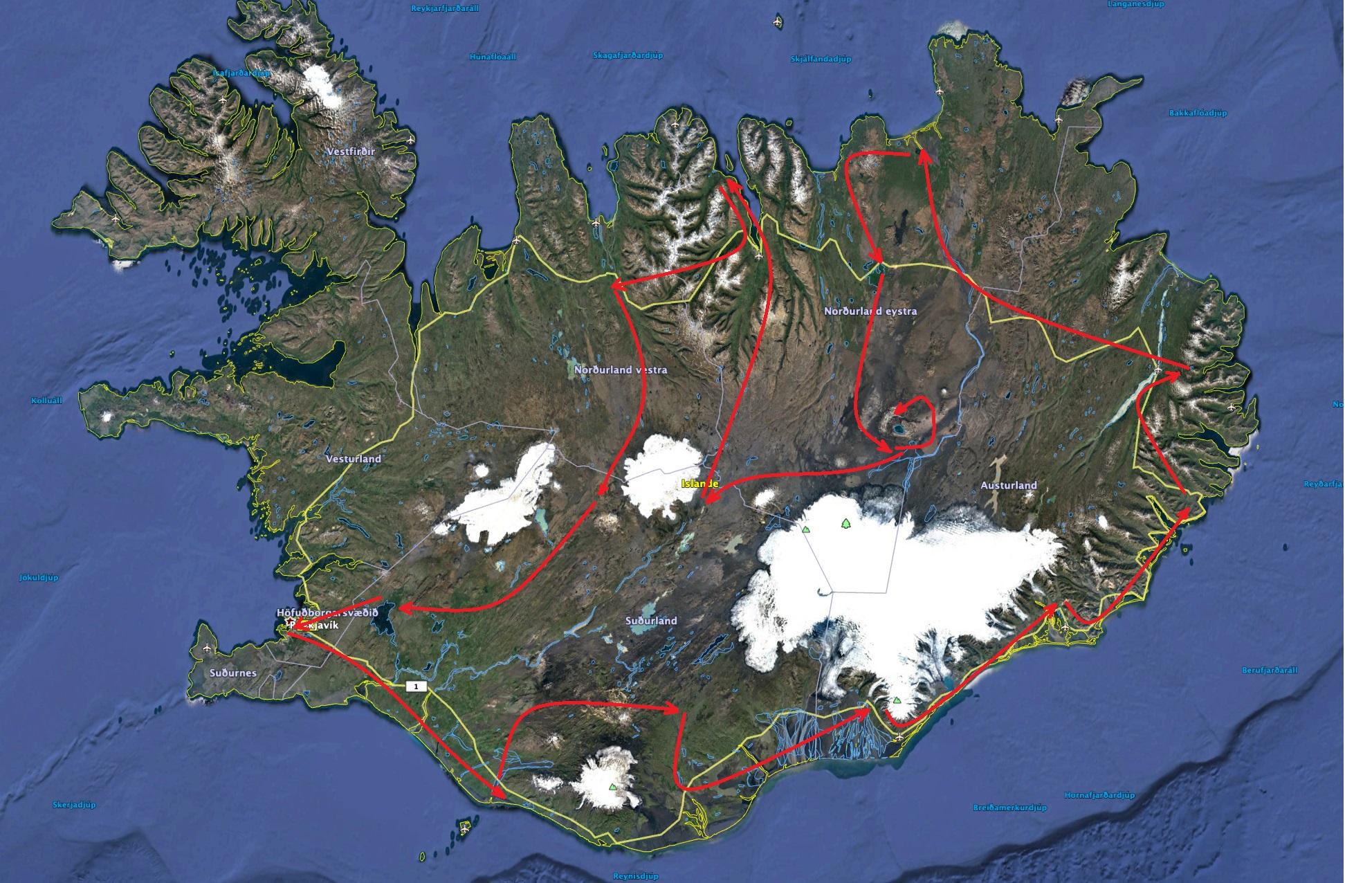 Carte Islande 20